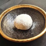 Image for Daifuku-Mochi au Sésame Noir at Kumano restaurant in Nice